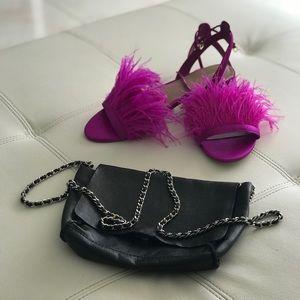 Zara small leather bag👌